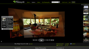 Photosynth Real Estate Example