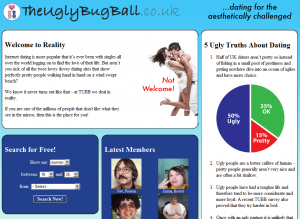 TheUglyBugBall.co.uk homepage