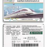 Train Ticket Maglev Shanghai